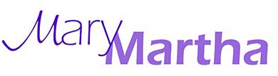 Mary Martha Sunday School Class Logo
