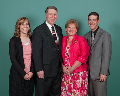 Pastor Bill Schneider and His Family